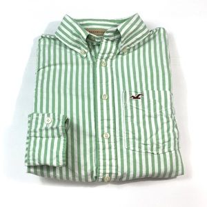 🌴BF350 Hollister HCO Button Front Shirt S